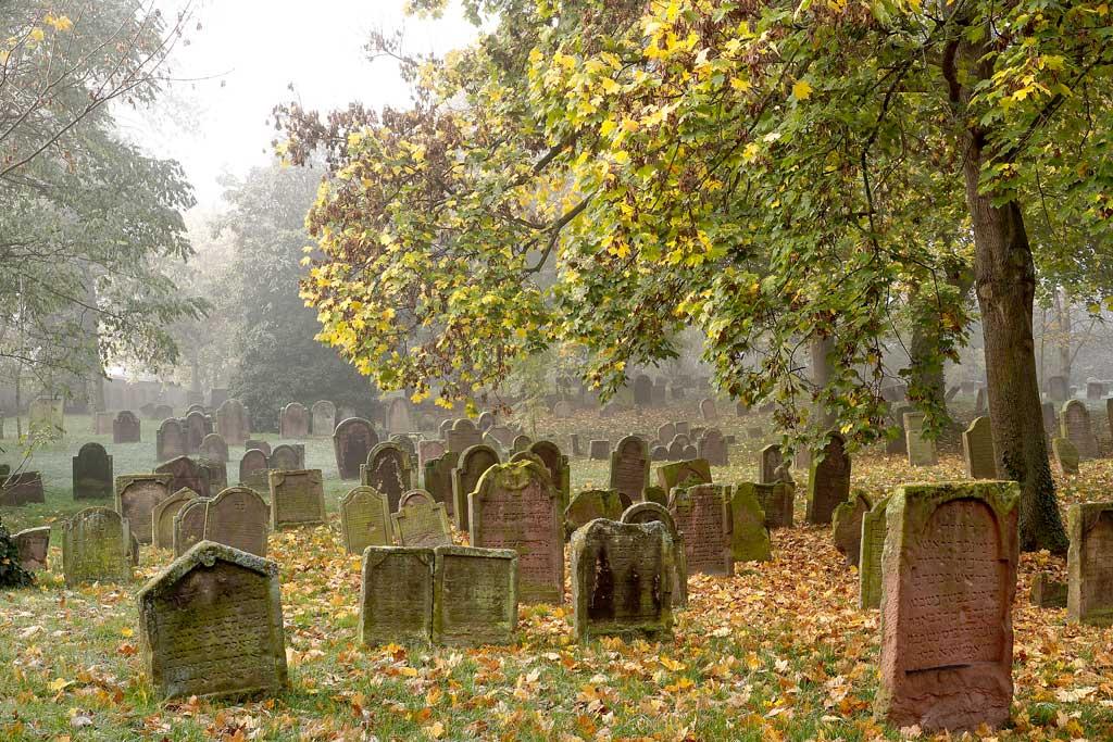 Jüdischer Friedhof Heiliger Sand in Worms