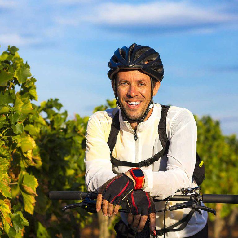 Aktiv im Weinberg Mountain-Bike